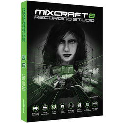 Acoustica Mixcraft 8 Recording Studio - Music Production Software (Educational, Boxed)