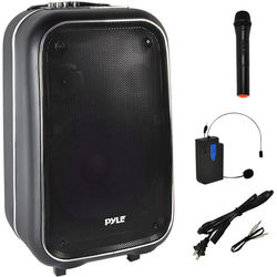 Pyle Pro Portable PA Speaker System with Bluetooth