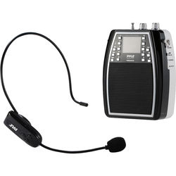 Pyle Pro Portable Microphone and Amplifier PA Speaker System