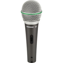 Samson Q6 Dynamic Handheld Mic with On/Off Switch