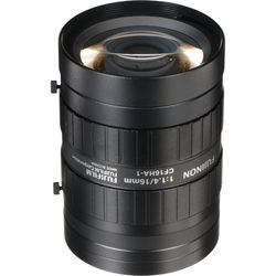 "Fujinon CF16HA-1 1"" 16mm Industrial Manual Lens for C-Mount Machine Vision Cameras"