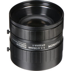 "Fujinon CF35HA-1 1"" 35mm Industrial Manual Lens for C-Mount Machine Vision Cameras"