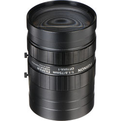 "Fujinon CF75HA-1 1"" 75mm Industrial Manual Lens for C-Mount Machine Vision Cameras"