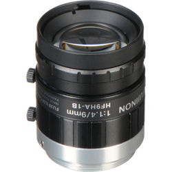 "Fujinon HF9HA-1B 9mm f/1.4 2/3"" Fixed Focal Lens"