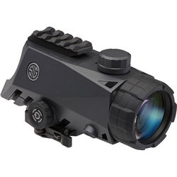 SIG SAUER 4x30 Bravo4 Red Dot Wide Field Battle Sight (5.56/7.62 Horseshoe-Dot Illuminated Reticle)
