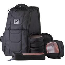 Gruv Gear Club Bag Flight-Smart Tech Backpack and Bento Box Bundle (Classic Black)