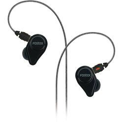 Fostex TE05BK Stereo Earphones (Black)
