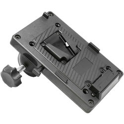 CINEGEARS V-Lock Battery Plate with Universal Clamp for LED Light