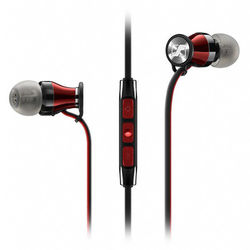 Sennheiser HD 1 In-Ear Headphones for Samsung Galaxy and Android Devices (Black/Red)