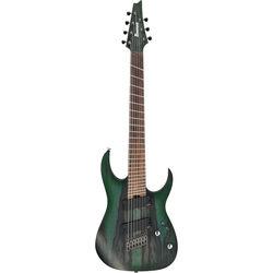Ibanez RGIM7BC RG Iron Label Series 7-String Electric Guitar (Deep Forest Burst Flat)