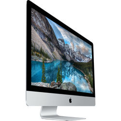 "Apple 27"" iMac with Retina 5K Display (Magic Trackpad 2 + Wired Keyboard, Late 2015)"