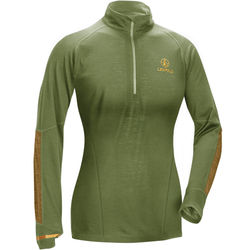 Leupold Women's Secluded Baselayer 1/2 Zip Pullover Sweatshirt (S, Shadow Green)