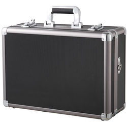 Vanguard VGP-13 Aluminum Hard Case with Foam and Dividers (Black)