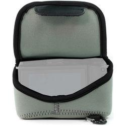 MegaGear Ultra-Light Neoprene Camera Case with Carabiner for Sony Cyber-shot DSC-RX10 III (Gray)