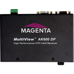 Magenta Multiview II AK600 VGA/Analog Receiver with Duplex Serial & Stereo Audio (600')