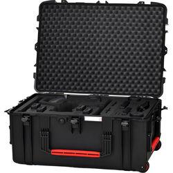 HPRC Wheeled Hard Case with Foam for DJI Inspire 2