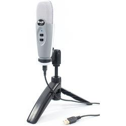 CAD U37 USB Studio Condenser Recording Microphone (Gray)