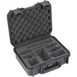 SKB iSeries Waterproof Case for 2 Sennheiser ENG Systems/2 Sony UWP Systems