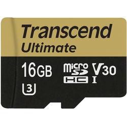 Transcend 16GB Ultimate UHS-I microSDHC Memory Card (Class 10)