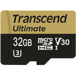 Transcend 32GB Ultimate UHS-I microSDHC Memory Card (Class 10)