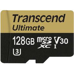 Transcend 128GB Ultimate UHS-I microSDXC Memory Card (Class 10)