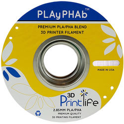 3D Printlife PLAyPHAb 2.85mm PLA/PHA Filament (White)