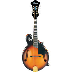 Ibanez M522S F-Style Mandolin (Brown Sunburst High Gloss)