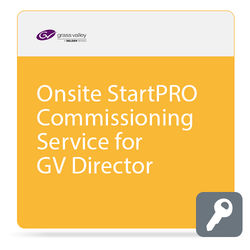 Grass Valley Onsite StartPRO Commissioning Service for GV Director