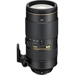 Nikon AF-S NIKKOR 80-400mm f/4.5-5.6G ED VR Lens (Refurbished)