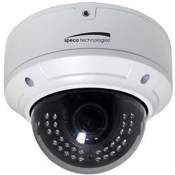 Speco Technologies HD-TVI 2MP Day/Night IR Dome Camera with 2.8 to 12mm Auto Iris Varifocal Lens (White Housing)