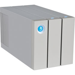 LaCie 2big 16TB 2-Bay Thunderbolt 2 RAID Array (2 x 8TB, Retail Packaging)