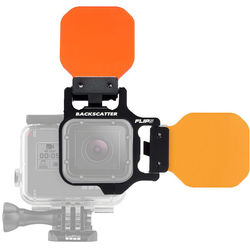 Flip Filters FLIP5 Two Filter System with Shallow, Dive, & Deep Filter for HERO5, 4, 3+, 3