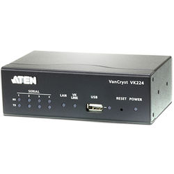 ATEN 4-Port Serial Expansion Box for VK2100 Controller