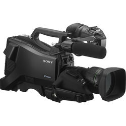 """Sony 3 2/3"""" Exmor CMOS Sensors SD/HD Studio Camera with Viewfinder"""