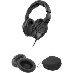 Sennheiser HD 280 Pro Closed Circumaural Headphones with Case and Accessory Kit