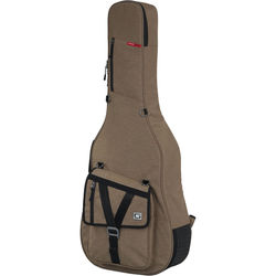 Gator Cases Transit Series Gig Bag for Acoustic Guitar (Tan)