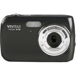 Vivitar ViviCam S126 Digital Camera (Black)
