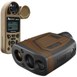 Bushnell 7x26 Elite 1 Mile CONX Combo Laser Rangefinder (Brown)