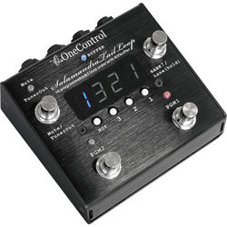 OneControl Salamandra Tail Loop 3 Loop Programmable Switcher Routing Pedal