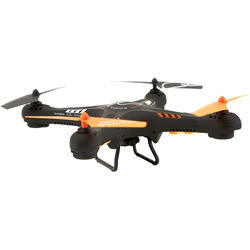 snakebyte Zoopa Q420 Cruiser Quadcopter with FlyCamOne Nano HD Camera (Black/Orange/White)