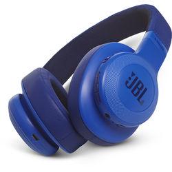 JBL E55BT Bluetooth Over-Ear Headphones (Blue)