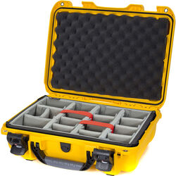 Nanuk 923 Protective Case with Padded Dividers (Yellow)