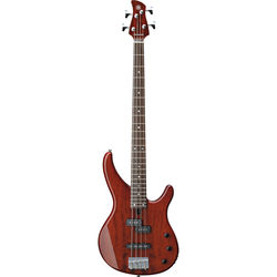 Yamaha TRBX174EW 4-String Electric Bass (Root Beer)