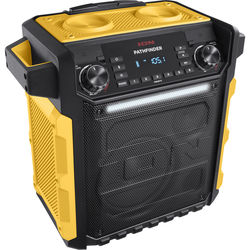 ION Audio Pathfinder Waterproof Rechargeable Speaker System (Yellow)