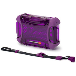 Nanuk Nano 320 Protective Hard Case (Purple)