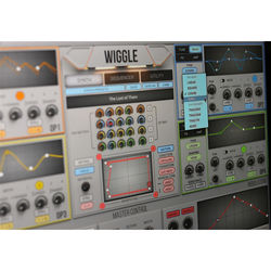 2nd SENSE Wiggle - Waveshaping Synthesizer Plug-In (Download)