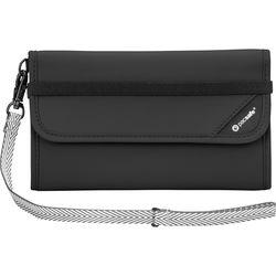 Pacsafe V250 Anti-Theft RFID Blocking Travel Wallet (Black)