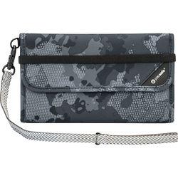 Pacsafe V250 Anti-Theft RFID Blocking Travel Wallet (Gray Camo)