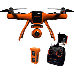 "Wingsland Scarlet Minivet Quadcopter with 12MP Flight Camera and 2.5"" Display"
