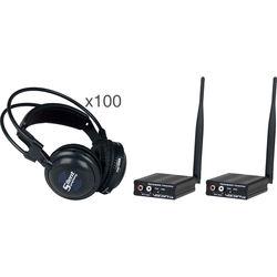 VocoPro SilentSymphony-DISCO Wireless Audio Broadcast & Headphone System